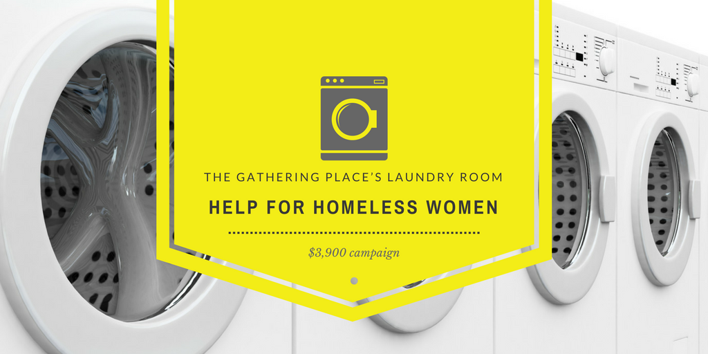The Gathering Place's Laundry Room: Help for Homeless Women