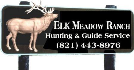 O25565 - Large Elk Ranch Sign