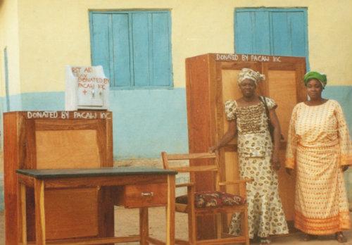 Donations by PACAW, Inc. to Koro-Ekiti Primary School in Nigeria
