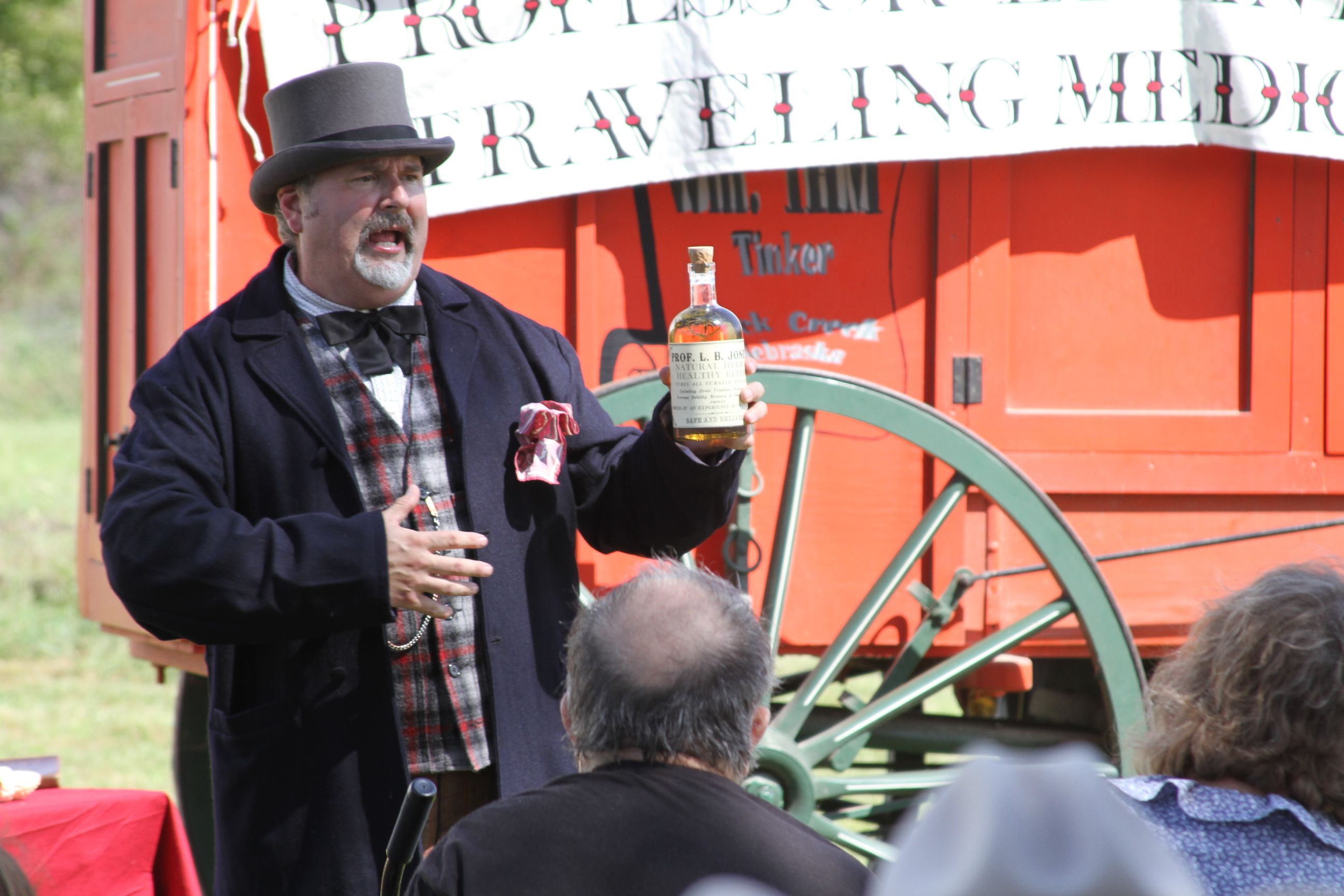Medicine Show in Railroad Town
