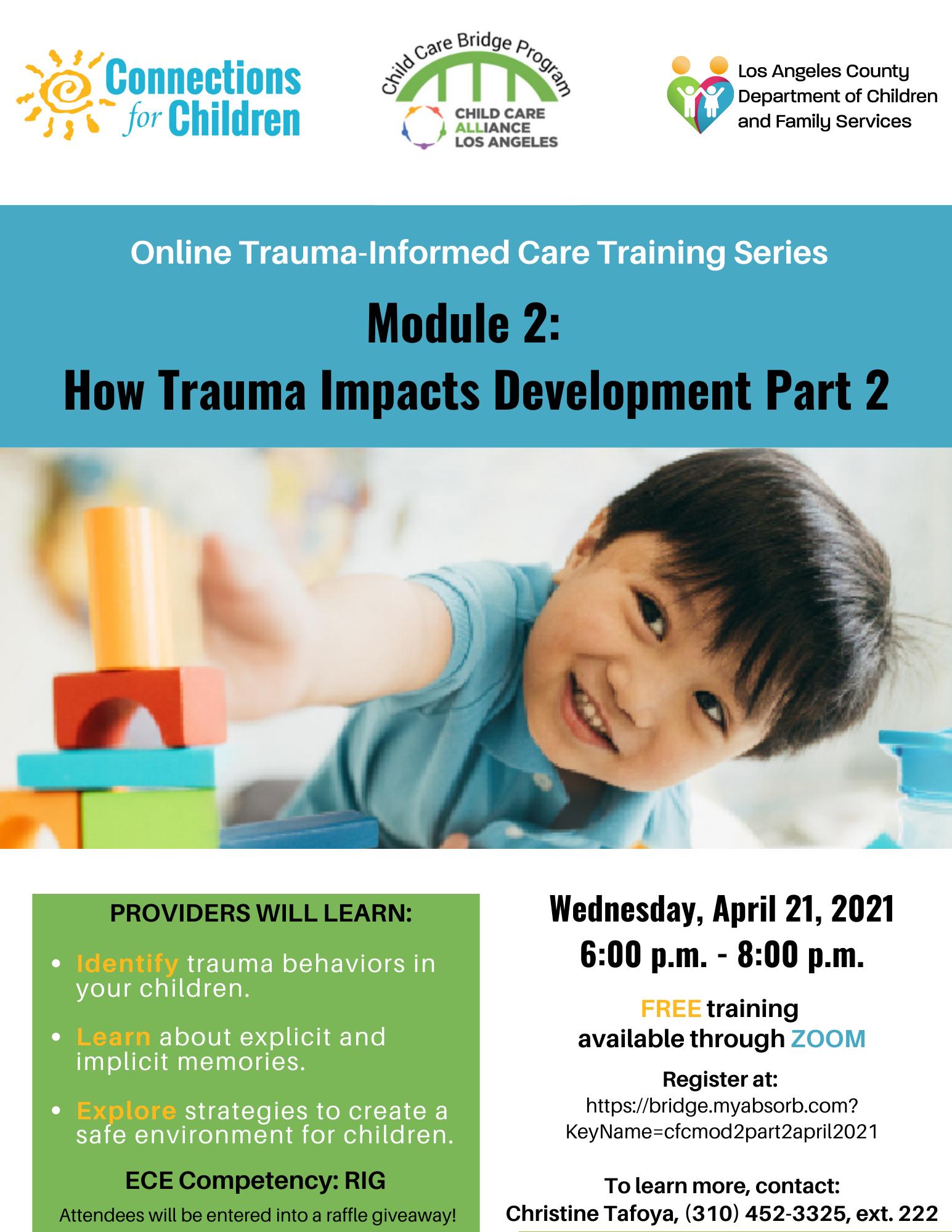 How Trauma Impacts Development, Part 2