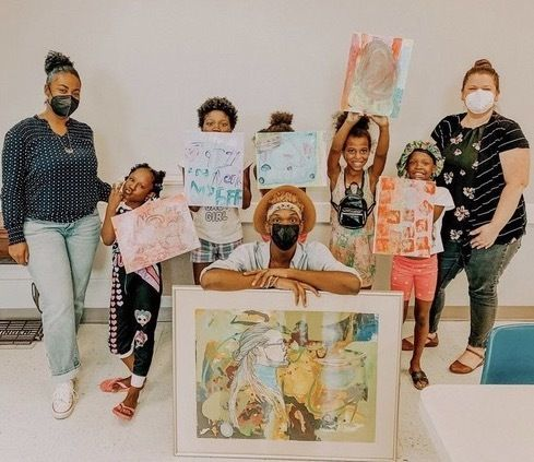 The Columbus Museum Partners with Local Artist Tony Pettis for Community Art Project