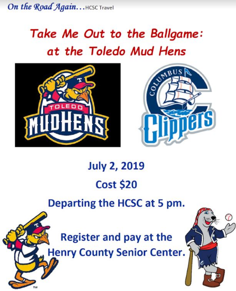 July 2 Toledo Mud Hens vs Columbus Clippers