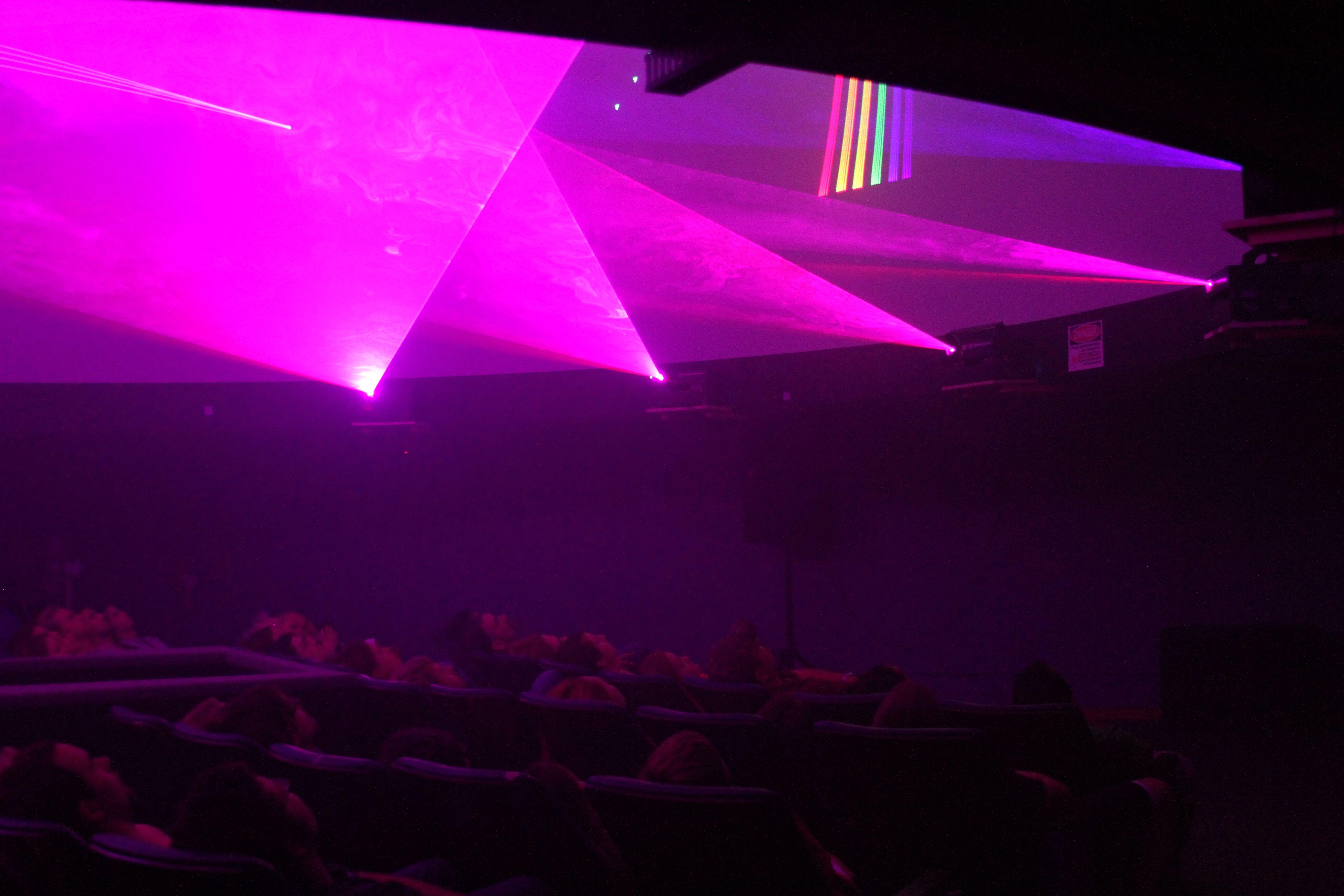 Laserfest: seven laser projectors! (2012)