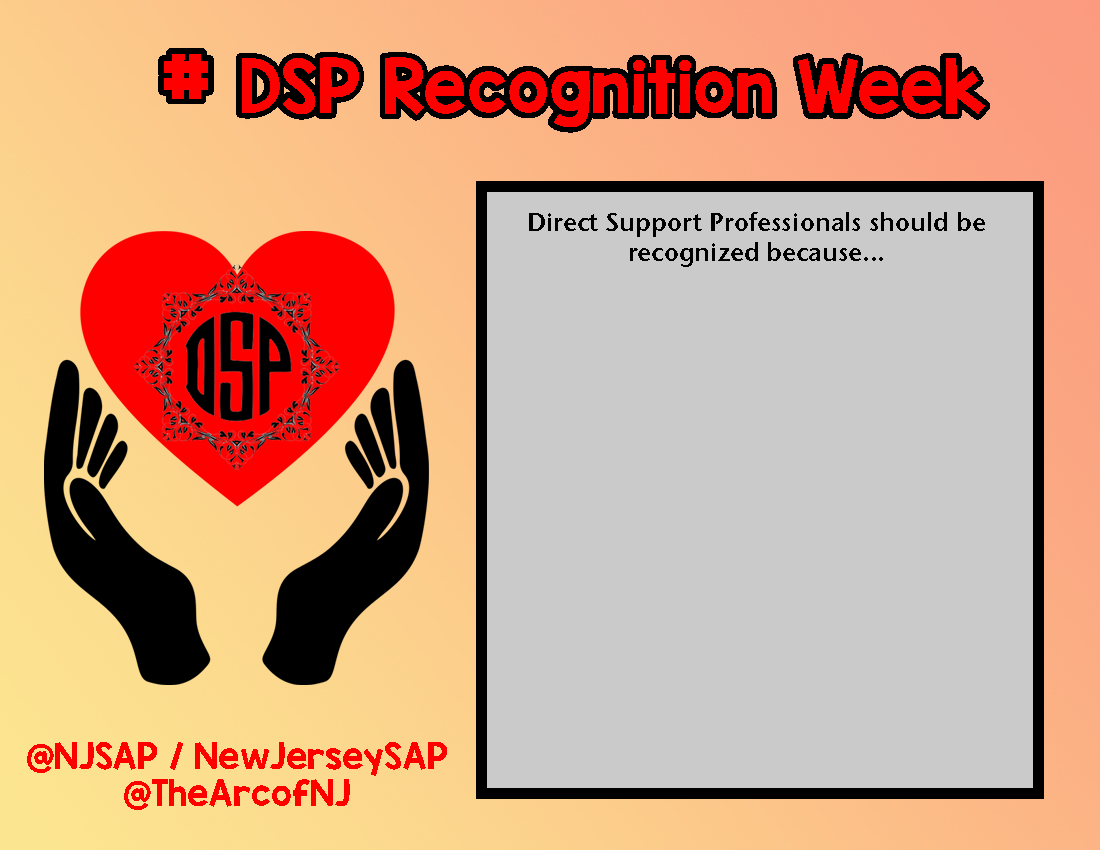 DSP Recognition Week Template