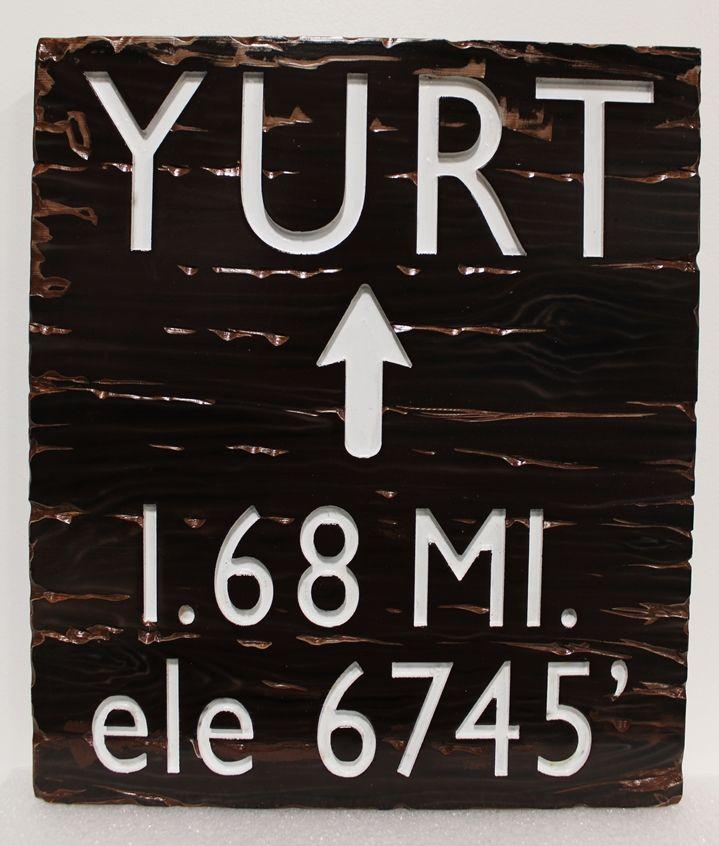 G16131 -  EngravedHDU  Sign for a Bureau of Land Management Trail