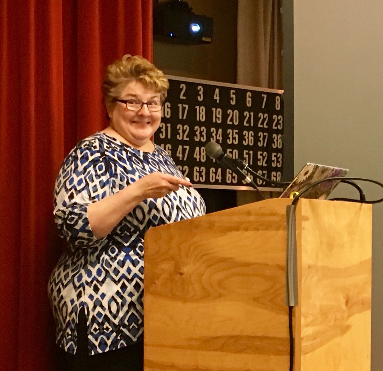 Cyndi Ingle, Fall Seminar 2018