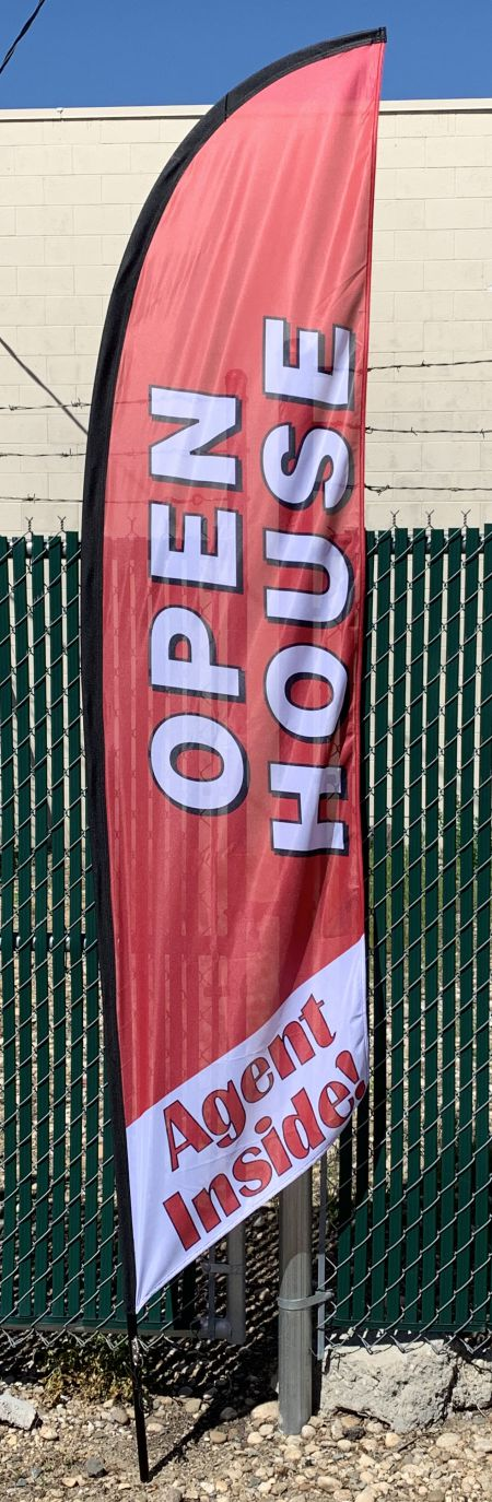 10ft Open House Flag