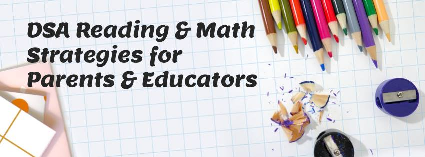 Reading and Math Strategies for parents and educators