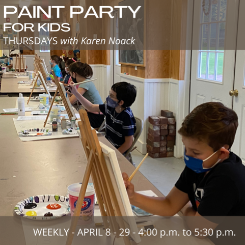 Paint Party for Kids (Ages 8-14)