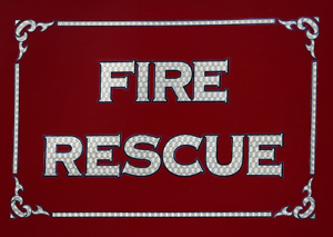 Fire and EMS signage