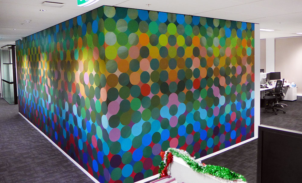 Large Format Wall Graphics: Abstract