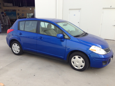 Nissan Versa car wraps Orange County