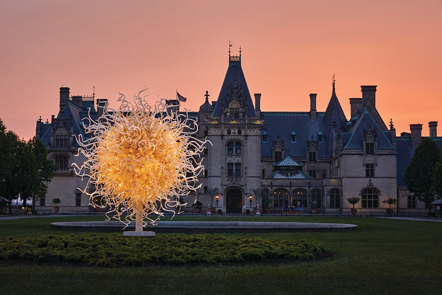 June 7-8, 2018 -- Chihuly at Biltmore (Asheville, NC)