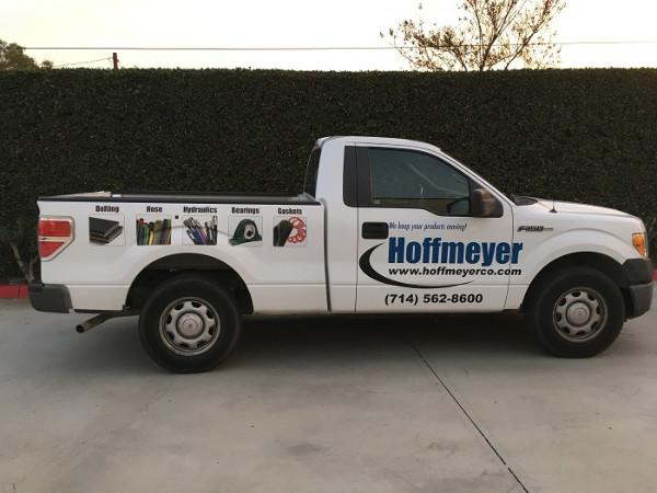 Fleet truck decals and graphics Orange County CA