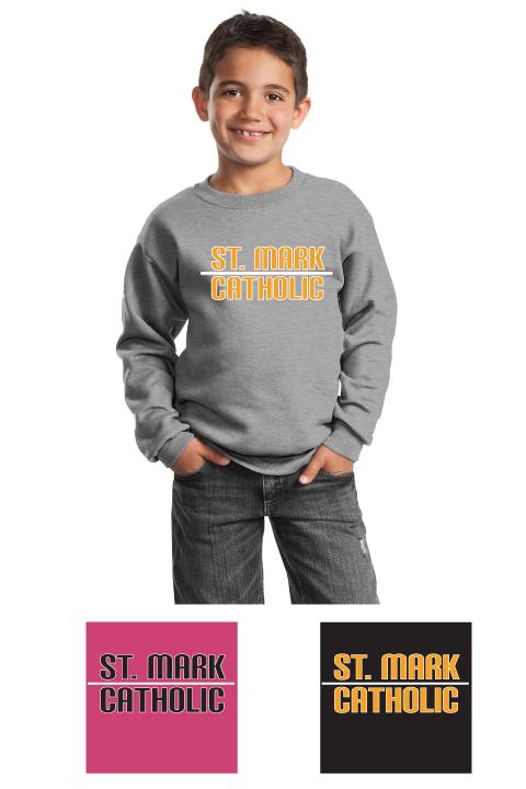 St. Mark Catholic - Crewneck Sweatshirt