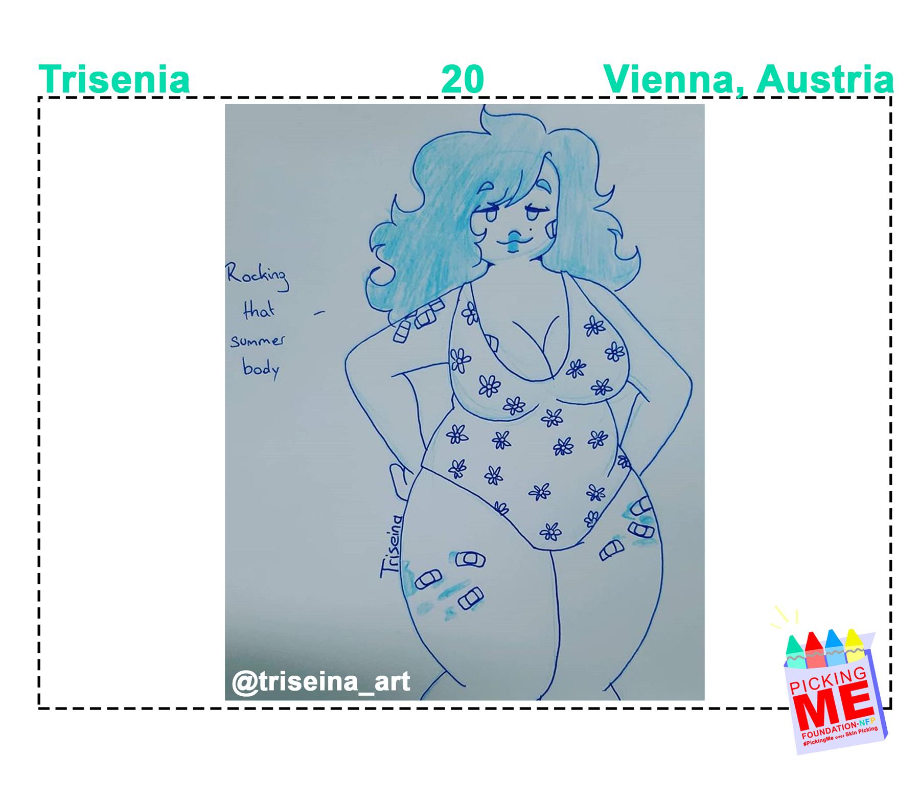 #DrawingWithDerma: Trisenia