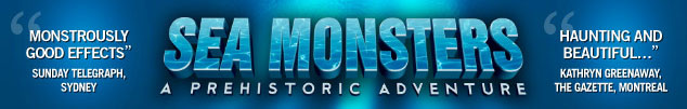 Sea Monsters Banner