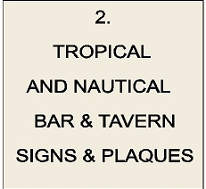 RB27200 - Tropical & Nautical Bar & Tavern Signs & Plaques