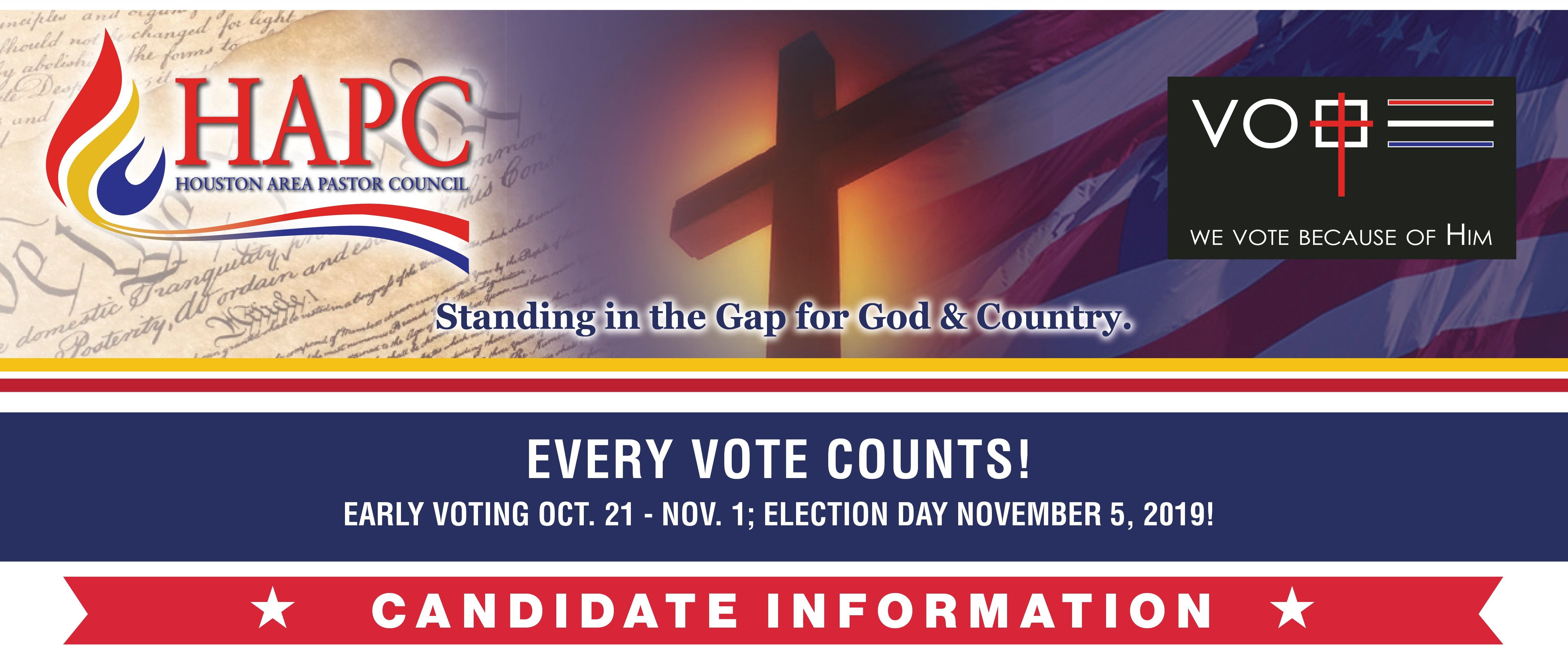 Houston Church Voter Guide