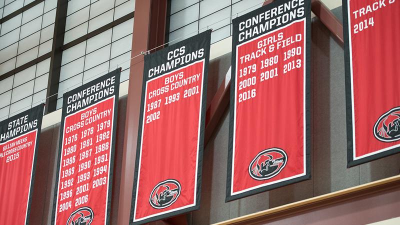 Gunn Gym Banners