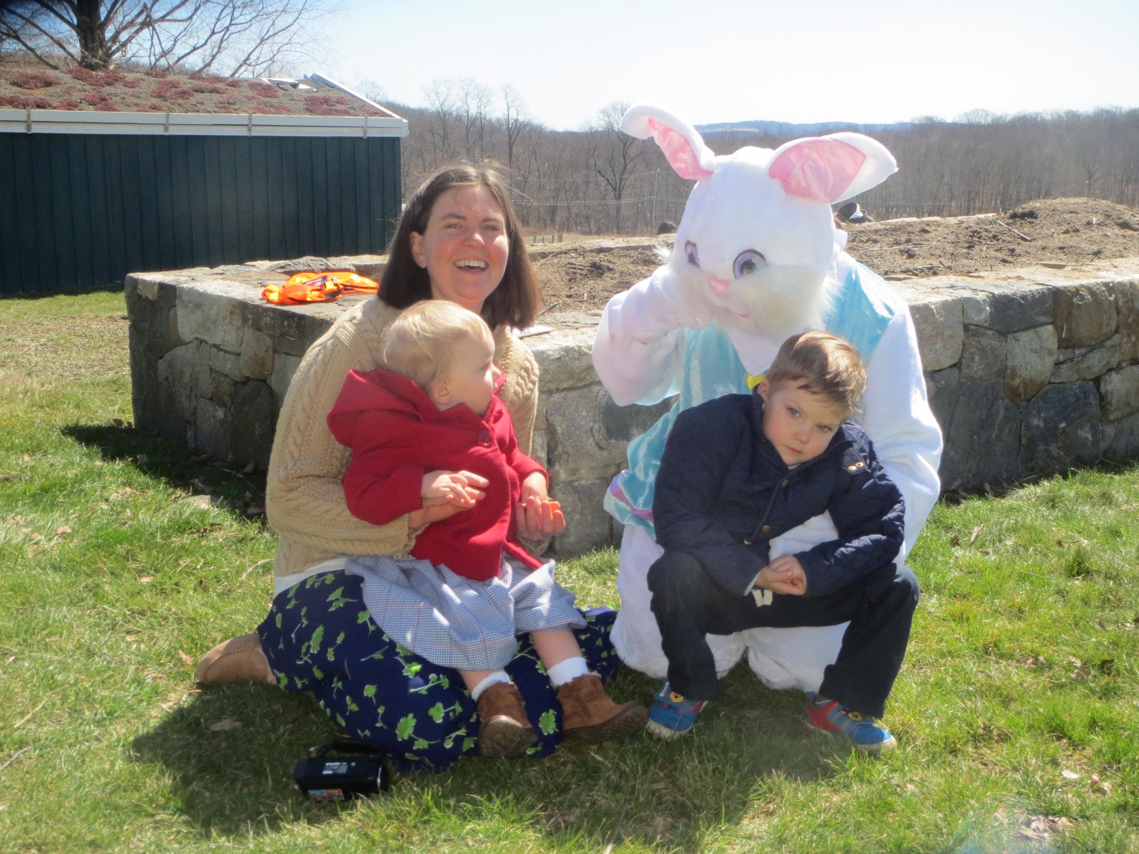 Bunny visits HHF.