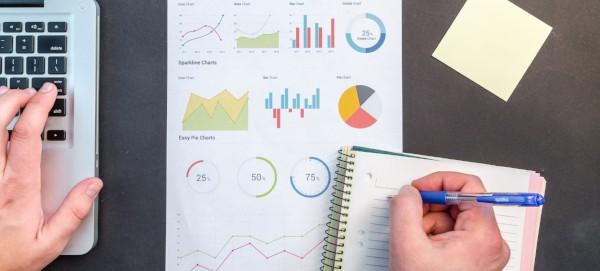 Charts and graphs reflecting survey results