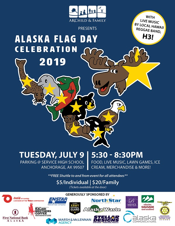 Alaska Flag Day Celebration
