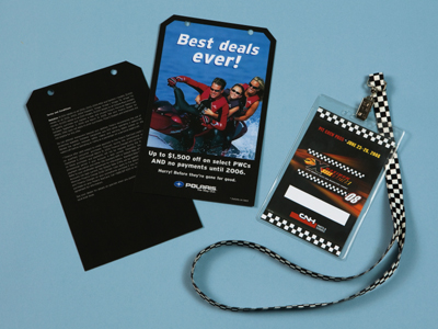 Laminated Lanyard Cards