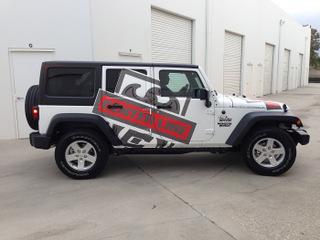 Vehicle vinyl graphics Orange County