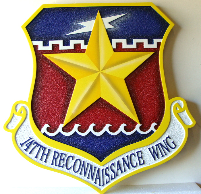 V31539 - 147th Reconnaisance Wing Crest