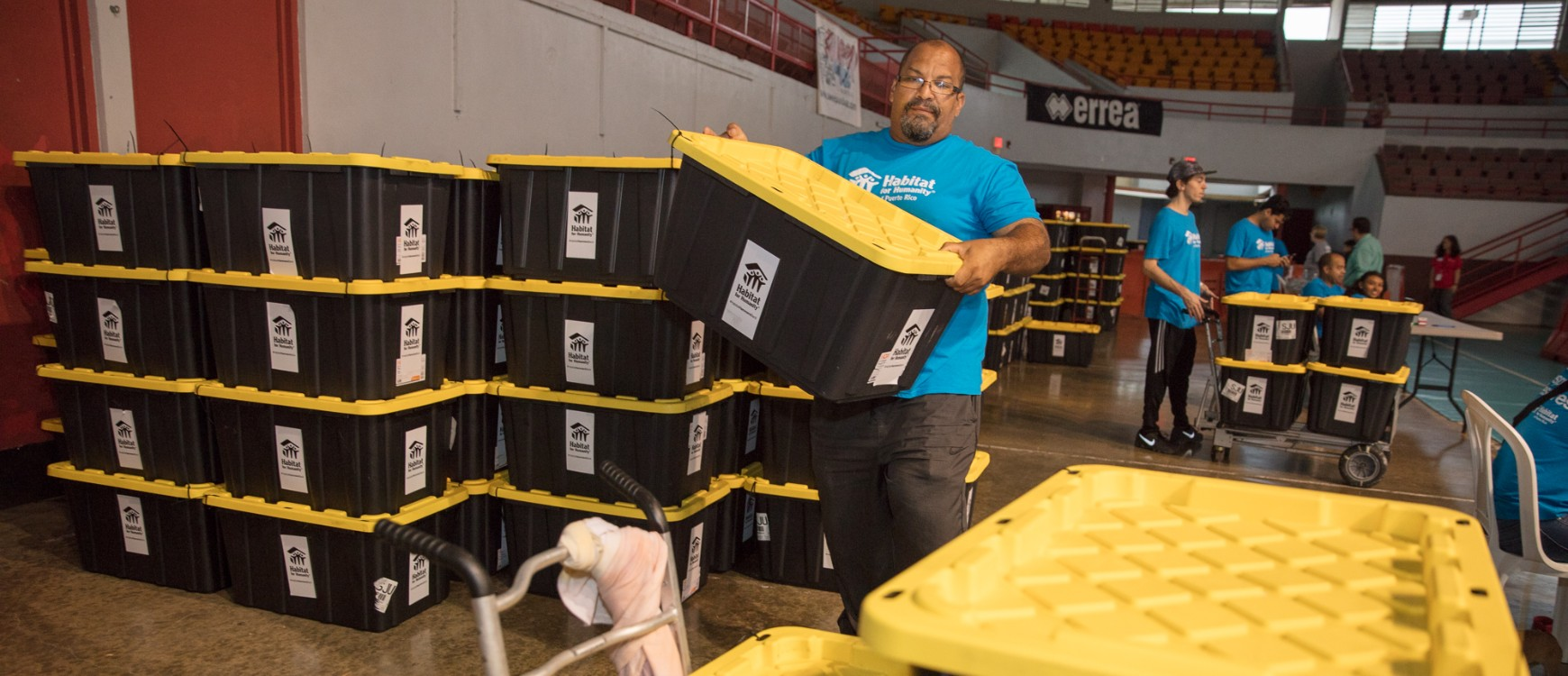 Kits reparación de viviendas distribuidos