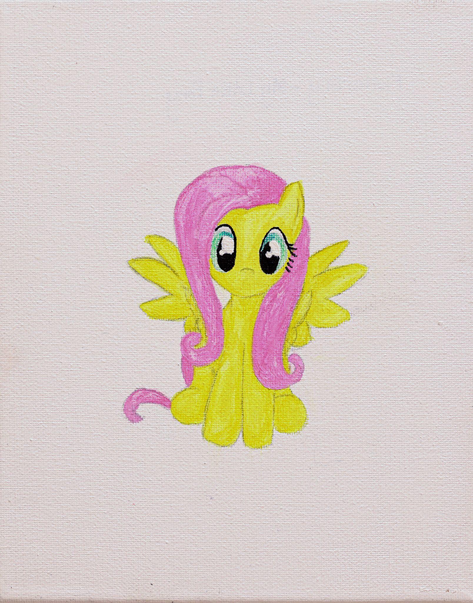 """""""Flutter Shy My Little Pony"""" - Kylie Parker"""