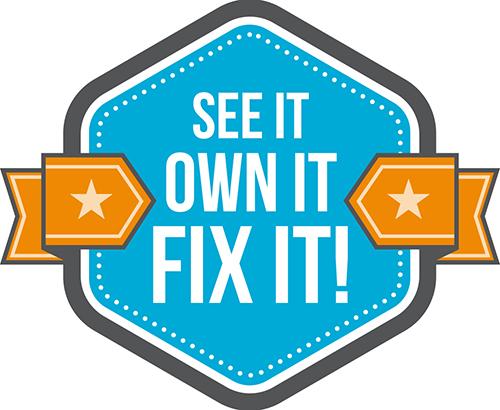 see it fix it