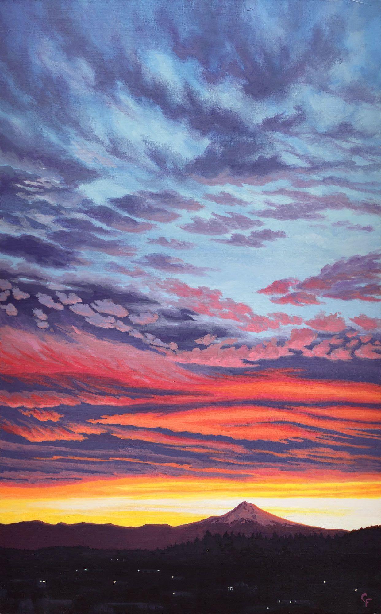 Sunrise Over Mt Hood 2