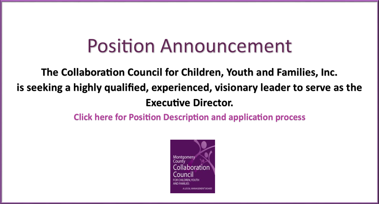 ED Position Announcement