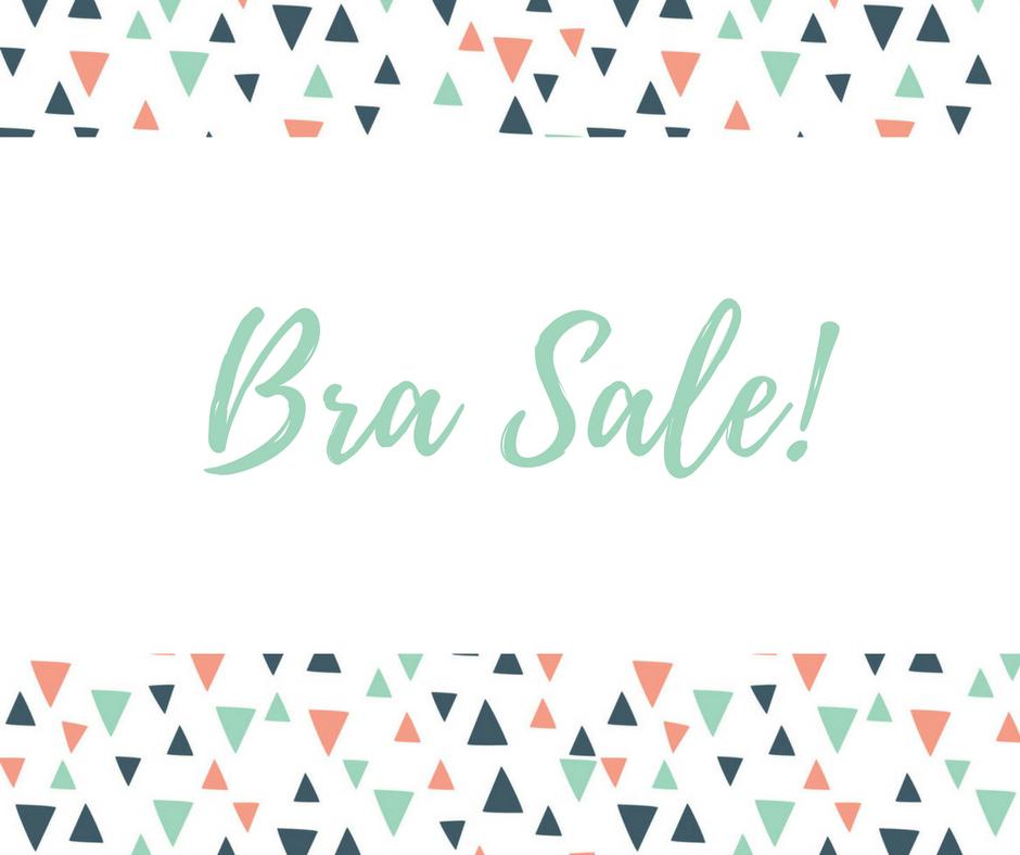 January Bra Sale