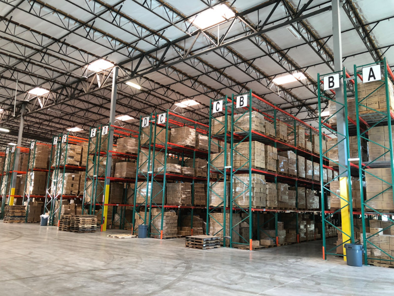 Warehouse Pallet Racking Letters | Orange County | LA County