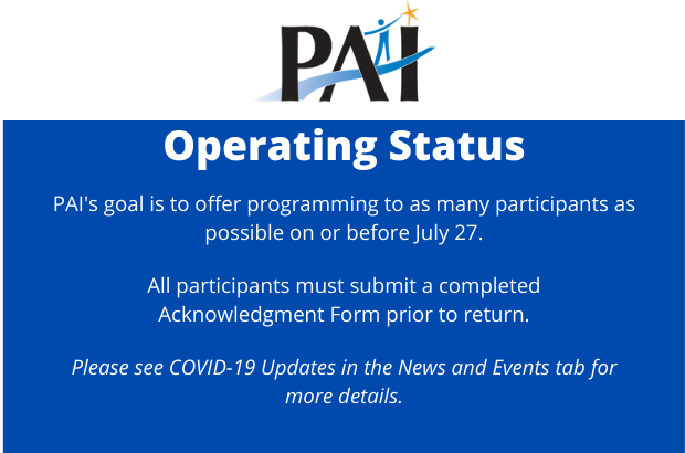 PAI Operating Status