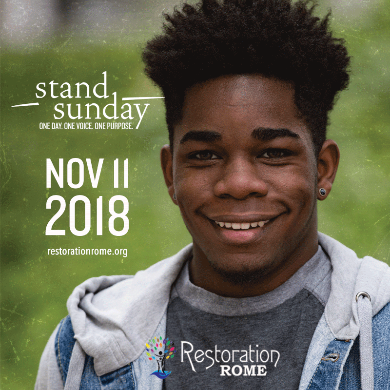 Stand Sunday 2018 - OPEN HOUSE