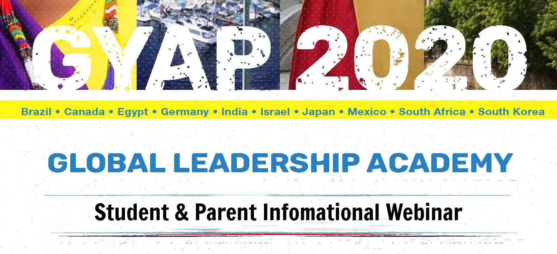 GLA - Student/ Parent Info Webinar