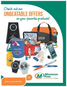 Promotional Product Guide PDF