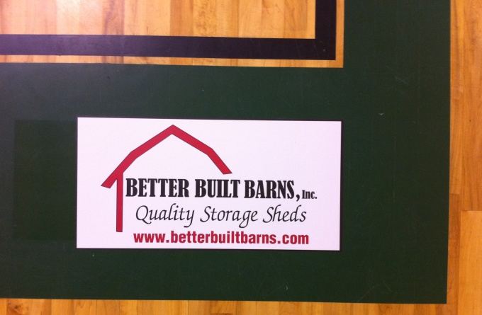 Better Built Barnes Floor Graphic