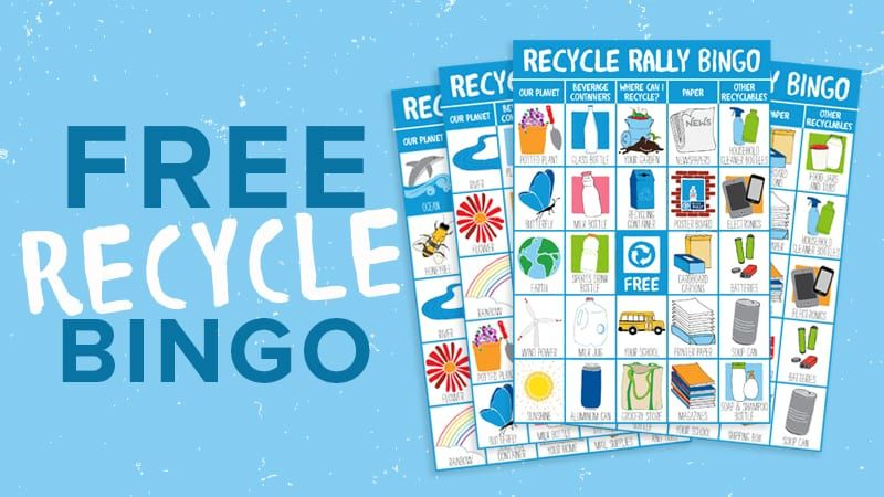 PEPSICO RECYCLING | RECYCLE RALLY BINGO