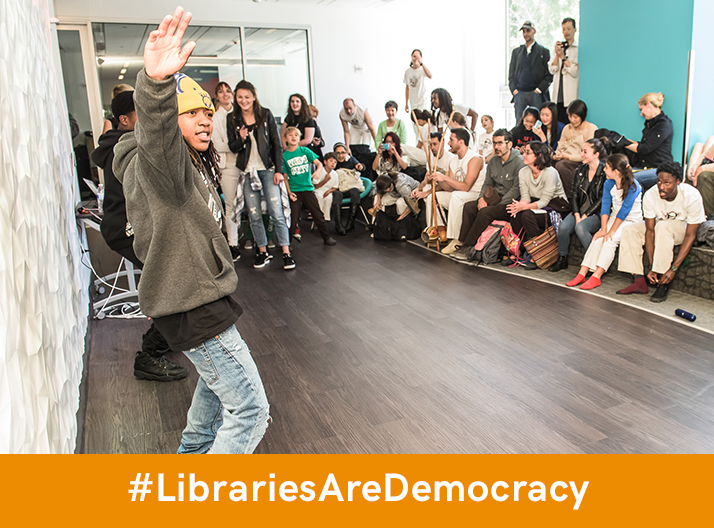 How Do You Think Libraries Deliver Democracy?