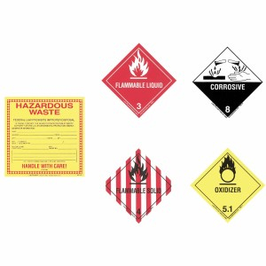 A01UB450 Hazardous Labels