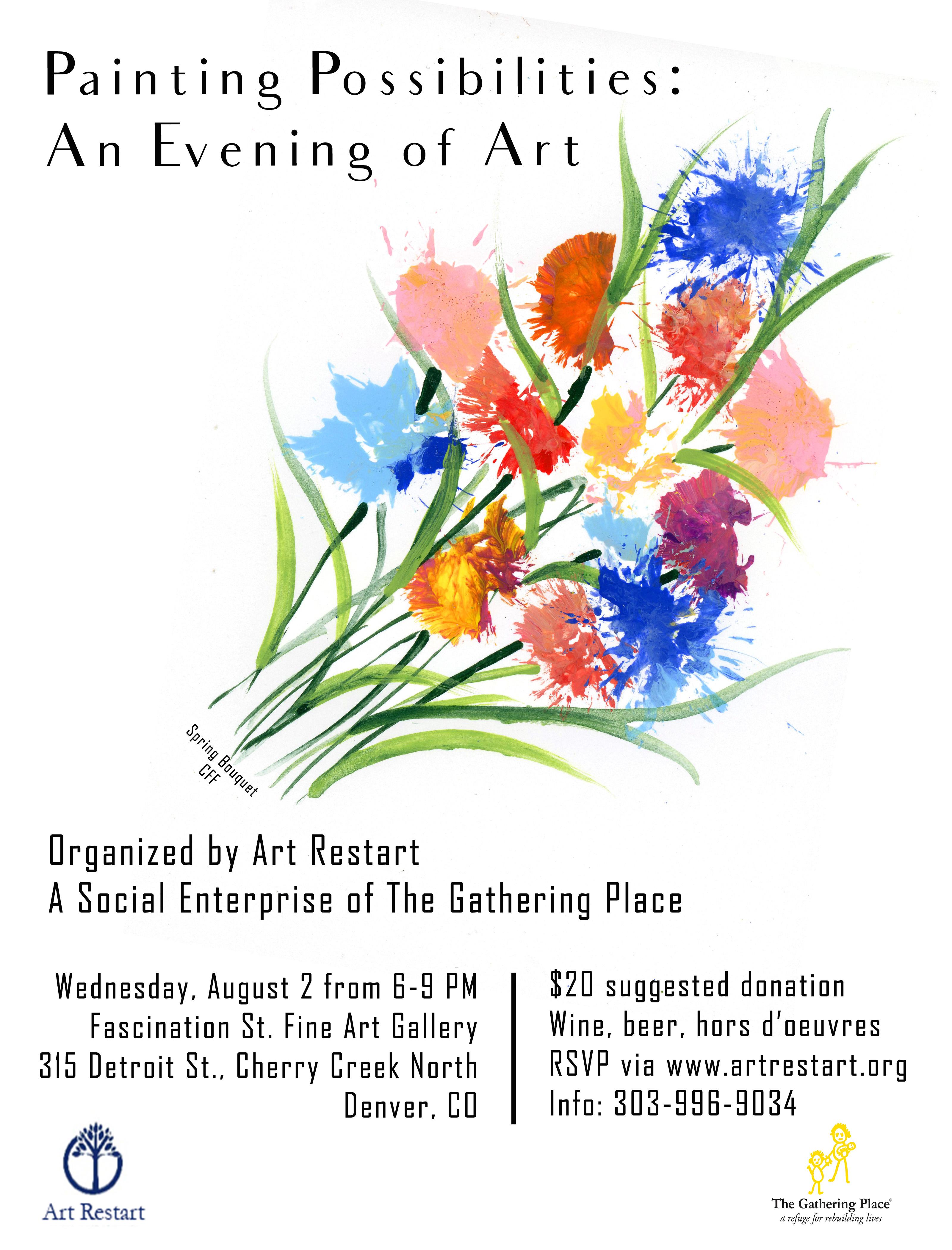 Art Restart Exhibition Wednesday, August 2