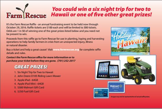 Farm Rescue Raffle