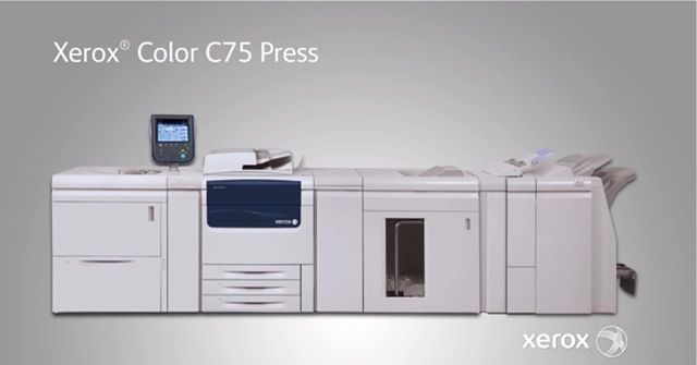 Xerox C75 Color Press