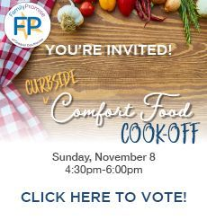 Vote: (Curbside) Comfort Food Cook-Off